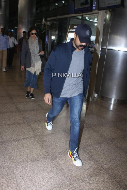 Airport Diaries: Ram Charan keeps it cool as he gets clicked at the airport with wife Upasana