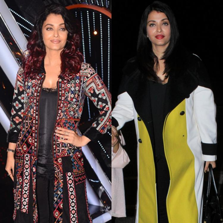 Airports to Film Festivals: 6 Times Aishwarya Rai Bachchan added a POP of colour to her attire with long coats