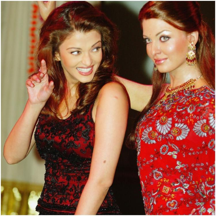 Aishwarya Rai Bachchan posing next to her wax statue at Madame Tussauds is the perfect Flashback Friday treat