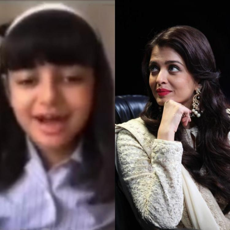 Aishwarya Rai Bachchan's daughter Aaradhya says 'Dhanyawaad Miss' as she attends virtual school in viral video