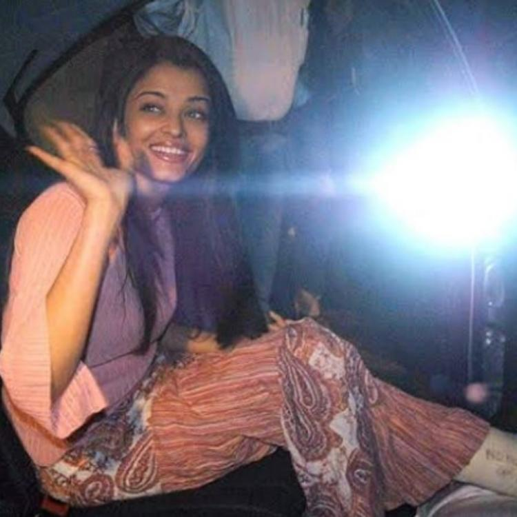 Aishwarya Rai Bachchan's infectious smile as she waves at someone in a throwback PHOTO deserves your attention