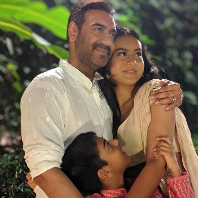 Ajay Devgn REVEALS he is not comfortable with Yug and Nysa being snapped by the shutterbugs