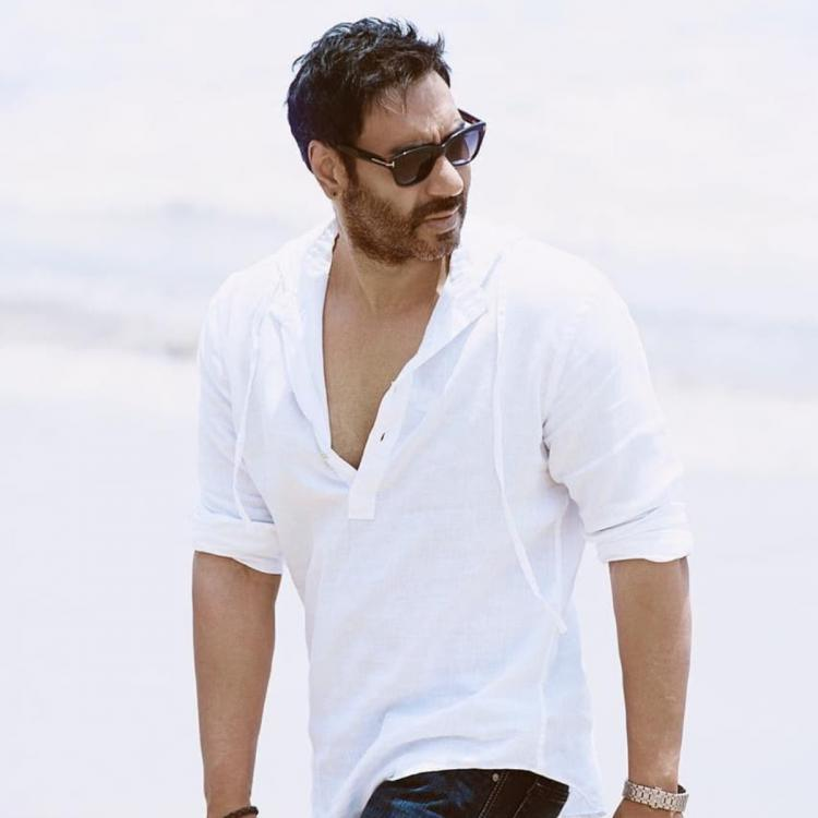 Ajay Devgn sends 'good vibes' as he shares his enticing picture with a positive message