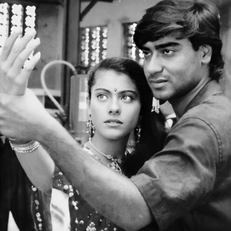 Ajay Devgn and Kajol's throwback PHOTO breaks the internet; Actor hilariously states 'it feels like 22 years'