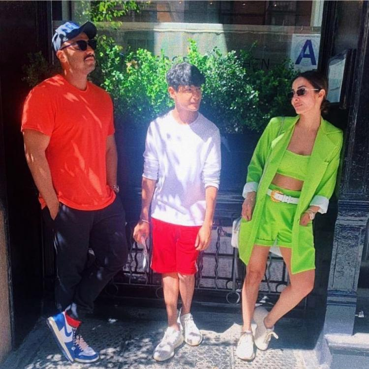 Arjun Kapoor and Malaika Arora's first picture together from New York vacation is taking over the internet