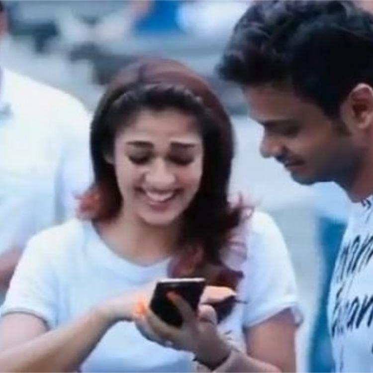Aju Varghese shares an unseen VIDEO of Nayanthara having a fun time during the shooting of Love Action Drama
