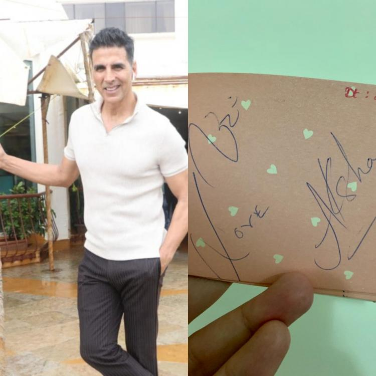 Akshay Kumar is overwhelmed after a fan shared an autograph signed by actor in 1991 to wish him on birthday