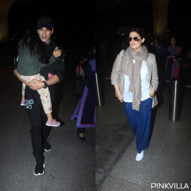 PHOTOS: Akshay Kumar jets off to London with family ahead of his birthday