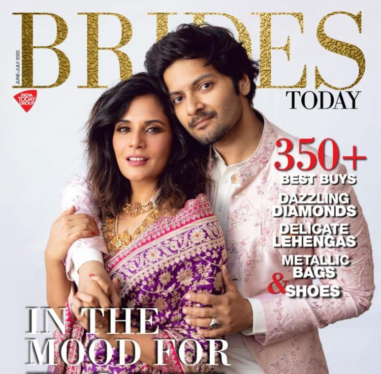 Ali Fazal and Richa Chadha are 'in the mood for love' as they feature on a magazine cover together