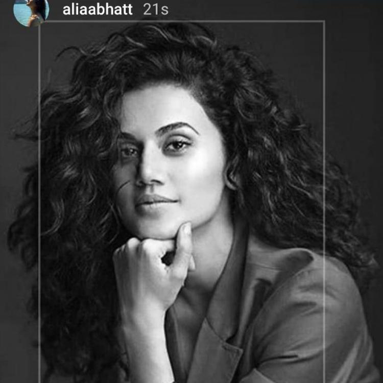 Alia Bhatt's birthday wish for Taapsee Pannu is all about love and happiness