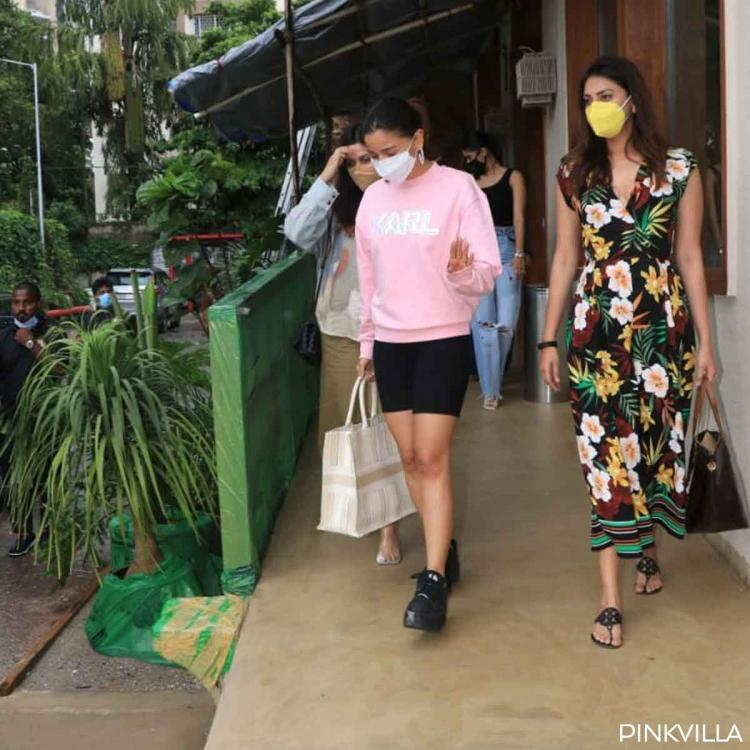 PHOTOS: Alia Bhatt catches up with her girl squad as the COVID 19 restrictions are relaxed in the city