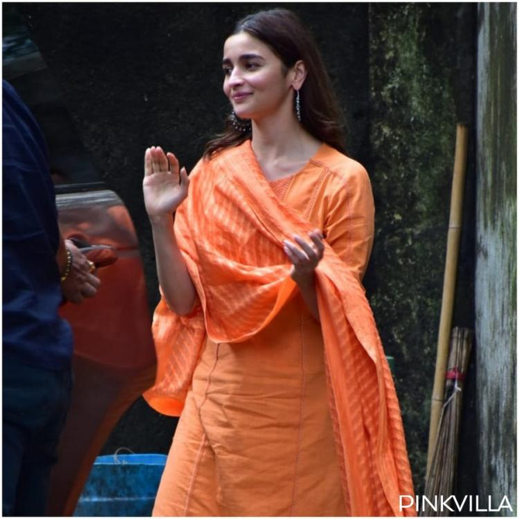 PHOTOS: Alia Bhatt snapped outside Sanjay Leela Bhansali's office looking lovely in an ethnic outfit