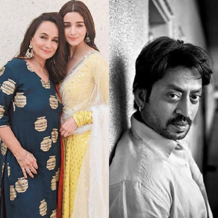 Alia Bhatt and Soni Razdan are terribly sad over Irrfan's untimely death as they remember the legendary actor