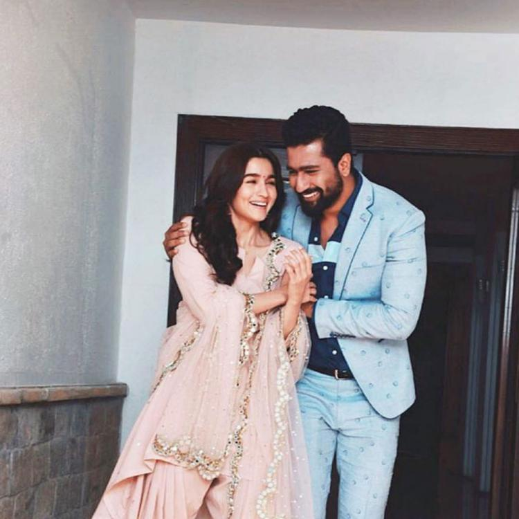 Alia Bhatt pens a sweet birthday note for Raazi co star Vicky Kaushal; Calls him extremely talented