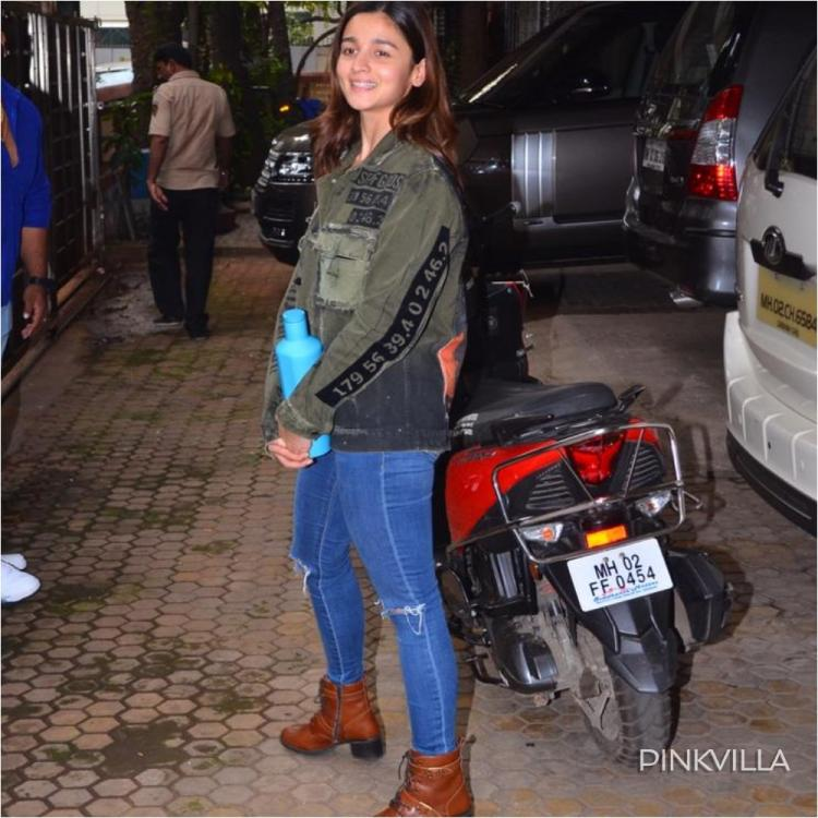 PHOTOS: Alia Bhatt opts for a cool & chic look as she heads out in the city flaunting her brown boots