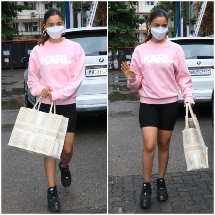 Alia Bhatt steps out with her sister & bestie in a casual attire & an EXPENSIVE Dior tote; Yay or Nay?