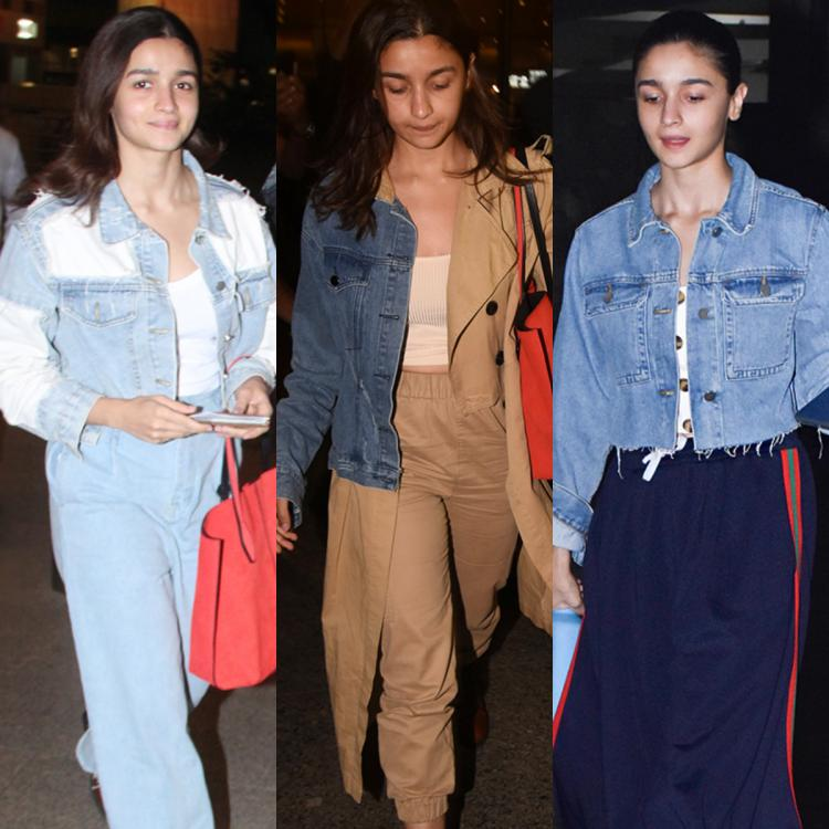 Alia Bhatt proves the classic denim jacket can be sported in three versatile ways; Check them out