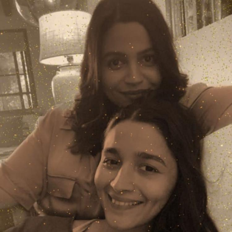Alia Bhatt leans on Shaheen as they declare their love for Taylor Swift in a photo; Write 'swifties 4 lyfe'