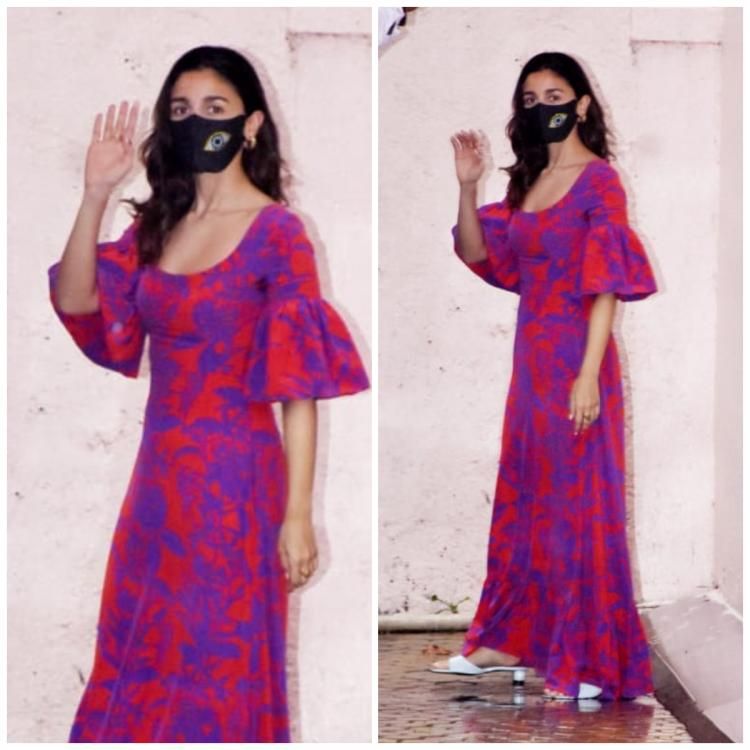 Alia Bhatt adds a splash of colour to the boring monsoon weather with her maxi; Yay or Nay?