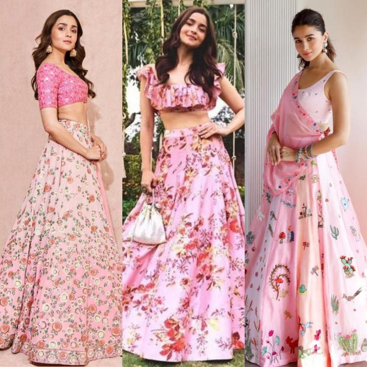 Alia Bhatt can't get enough of pink lehengas: 3 Times she showed us how to rock the look