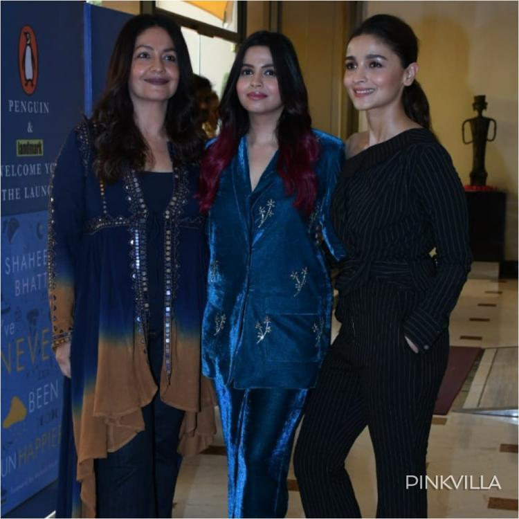 Pooja Bhatt opens up on alcoholism and depression at the launch of Shaheen Bhatt's book
