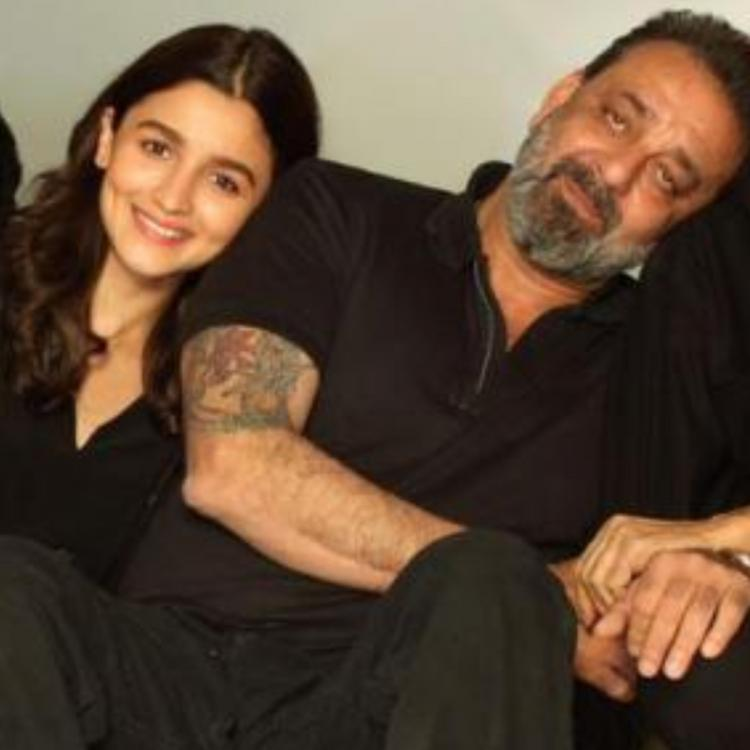 Alia Bhatt wishes 'double the happiness' for Sadak 2 co star Sanjay Dutt on his birthday; See Pic