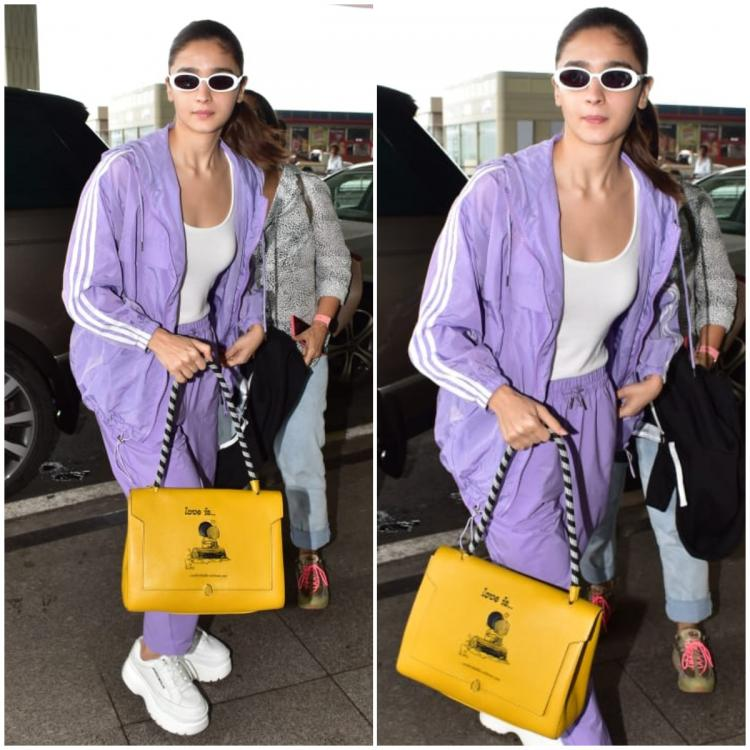 Alia Bhatt's latest airport arm candy is a limited edition Anya Hindmarch and it costs THIS much