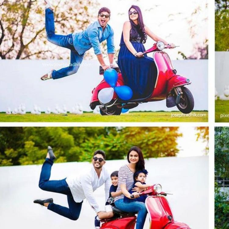Allu Arjun and family's adorable photo shoot is all things fun; Samantha Akkineni is all hearts for it
