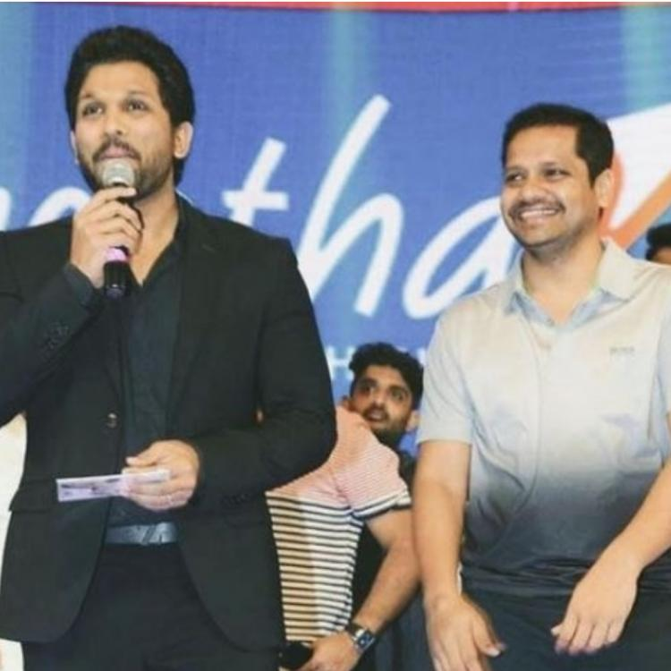 Allu Arjun shares a throwback PHOTO with Bunny Vasu; Showers him with wishes on his birthday