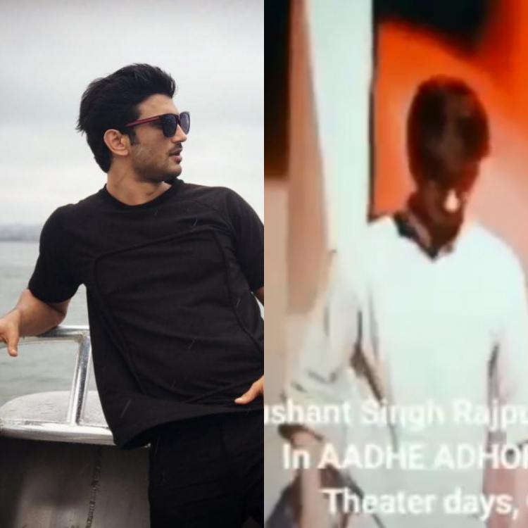 Amid Rhea Chakraborty's bail plea getting rejected, Sushant Singh Rajput's video from a play goes viral