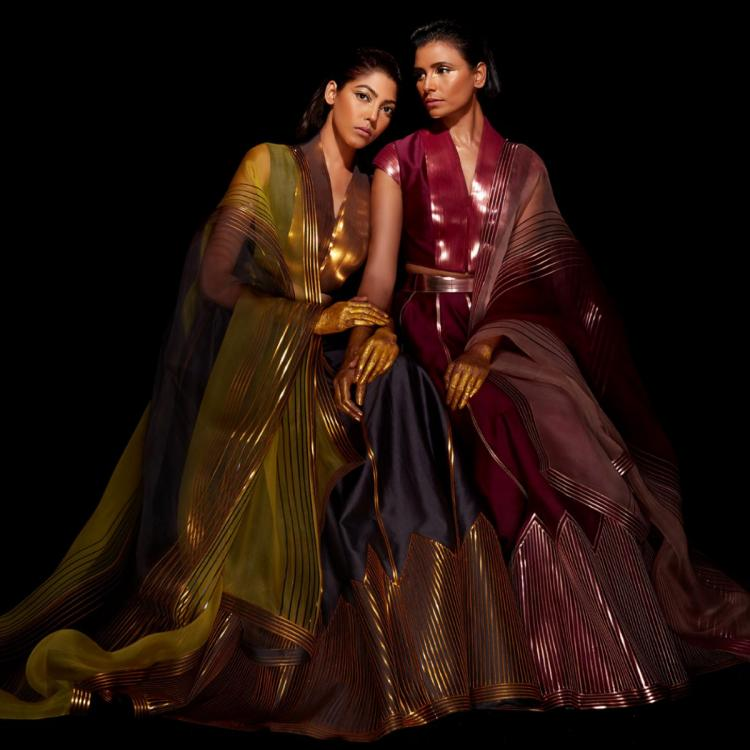 Lakme Fashion Week Day 3: Amit Aggarwal went down the fluid space while Mishru reminisces the lost summer