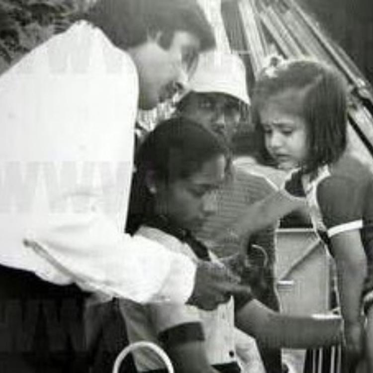 Amitabh Bachchan shares a black and white photo of baby Kareena Kapoor Khan and it is all things cute