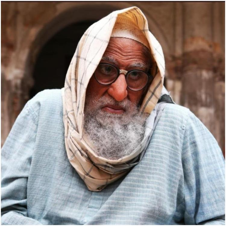Amitabh Bachchan shares the difficulties faced while using prosthetics during 'Gulabo Sitabo' shoot