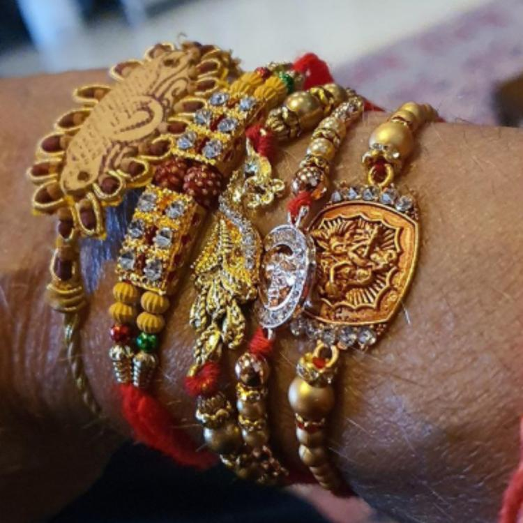 Amitabh Bachchan pens a thoughtful note as he shares a PHOTO of his hand tied with Rakhis