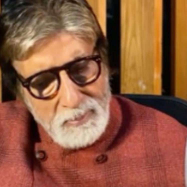 Amitabh Bachchan reveals his father's poems are giving him company during his stay at the hospital