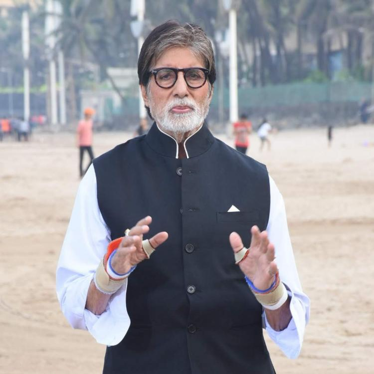 Amitabh Bachchan shares a PIC of himself suited up in black as he pens his late night thoughts