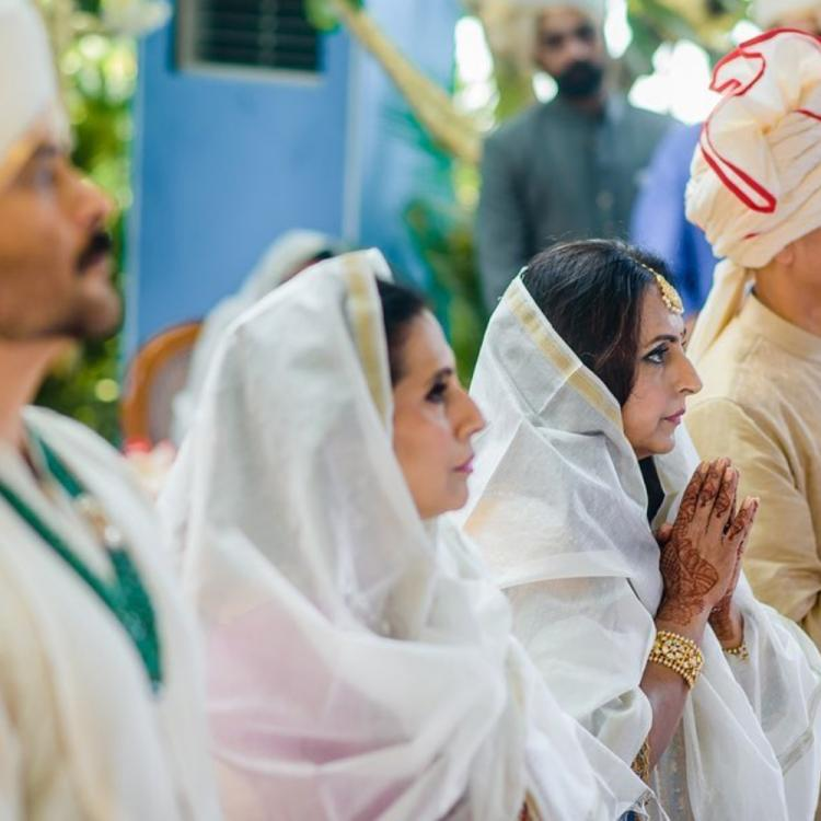 Anand Ahuja shares UNSEEN pics from his wedding and prays for the health of families during Coronavirus spur