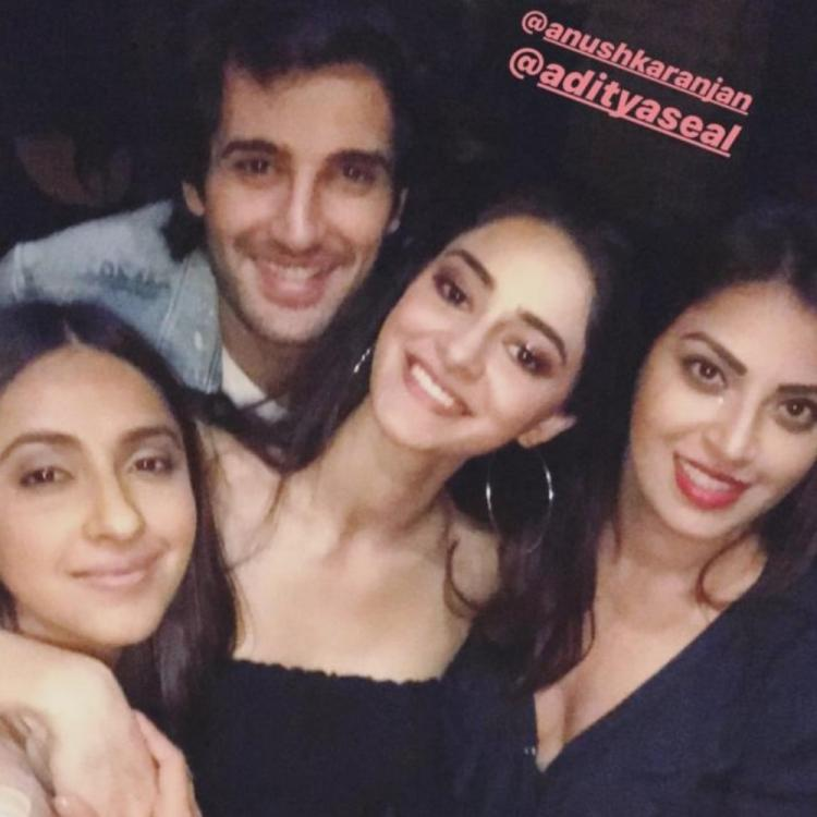Ananya Panday wishes Akansha Ranjan Kapoor on her birthday with an adorable pic; Check it out
