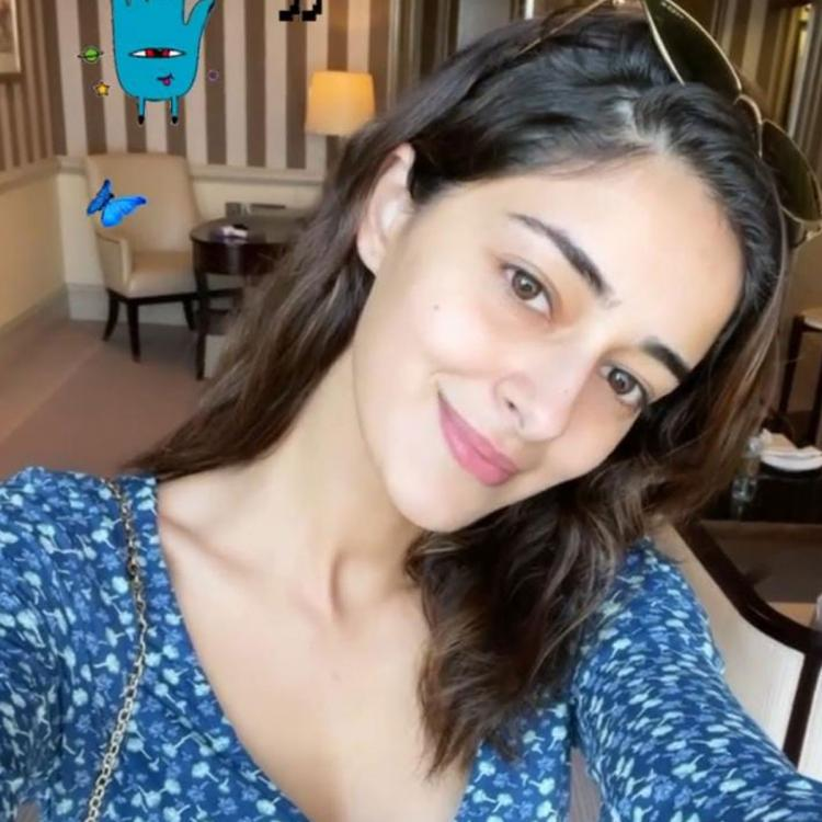 Ananya Panday makes a cute appearance in her recent selfie and we are mesmerised by her pananche; See pic