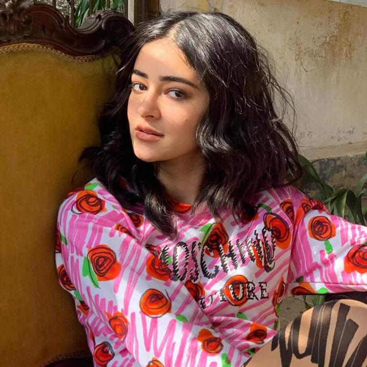 Ananya Panday looks exquisite in throwback pics from a photoshoot; Calls it 'love at first sight'