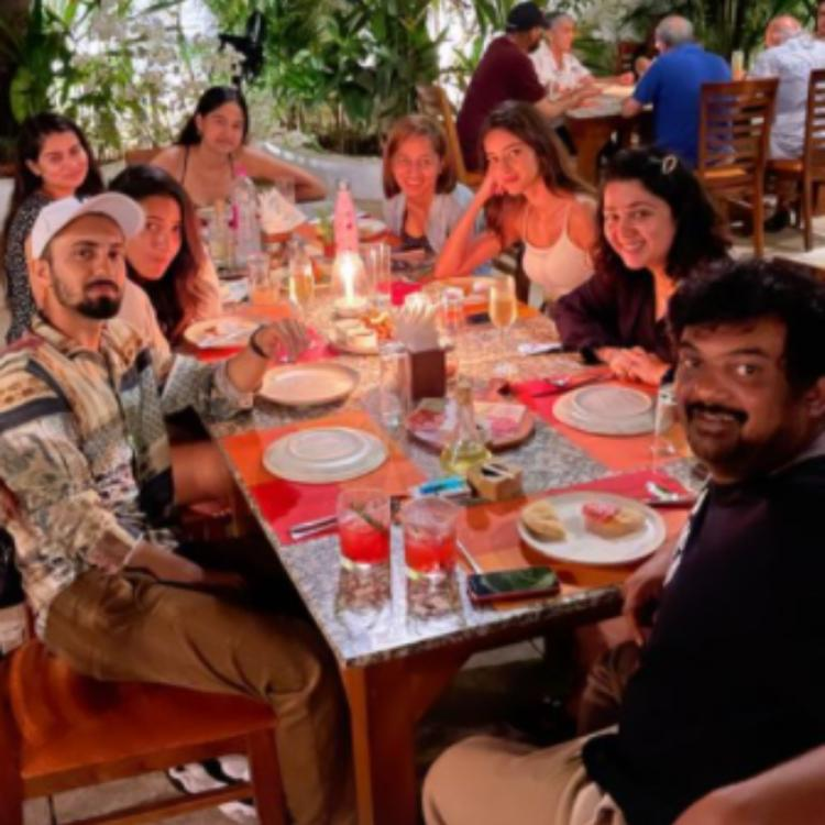 Ananya Panday joins her team members of Liger for a dinner night; Shares unmissable PHOTOS from Goa