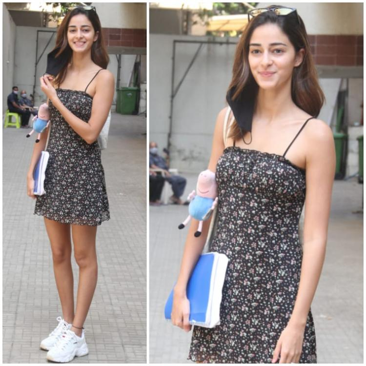 Ananya Panday adds a millennial touch to her summer dress as she steps out in the city; Yay or Nay?