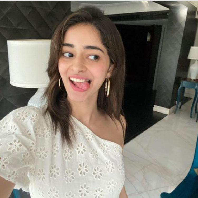 Ananya Panday tricks fans into believing she is vacationing with her new photo; announces a fun shoot