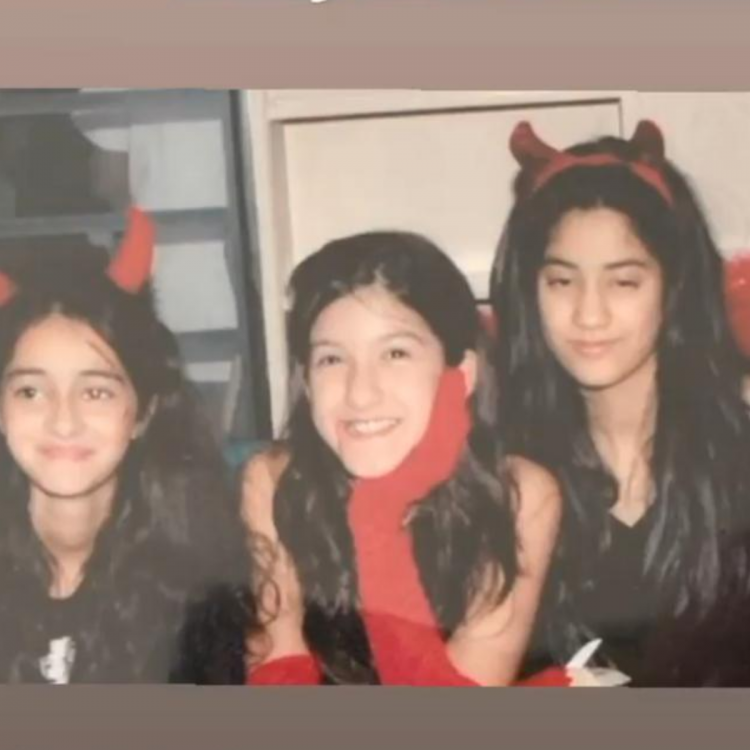 Ananya Panday sends out birthday wishes to Janhvi Kapoor with a major throwback photo; Check it out