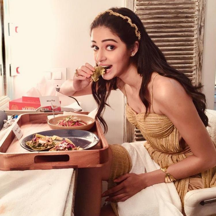 Ananya Panday REVEALS her love for butter chicken with a high fashion photo; Check it out