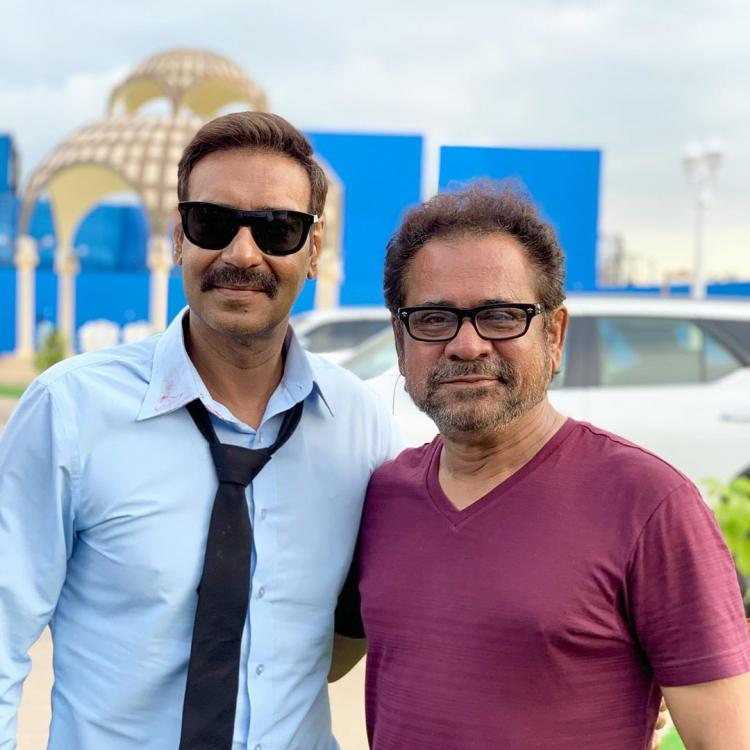 Director Anees Bazmee says Ajay Devgn always puts a smile on his face
