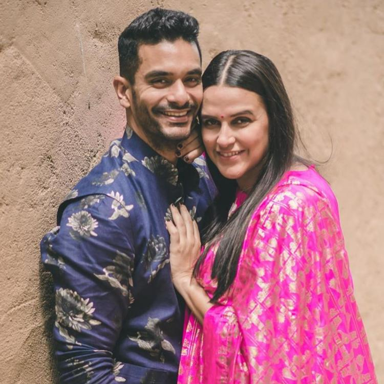 Angad Bedi gives a befitting reply to people trolling Neha Dhupia for her controversial cheating remark