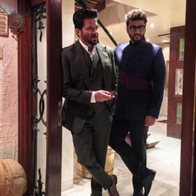 Arjun Kapoor's comment on uncle Anil Kapoor's latest post is unmissable; Check it out