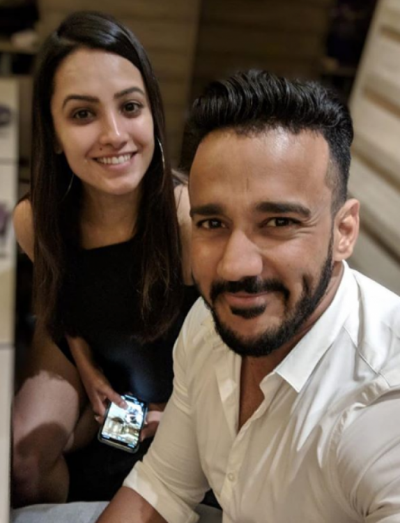 GULLY BOY fever grips Naagin 3 actor Anita Hassanandani and husband Rohit Reddy; VIDEO INSIDE