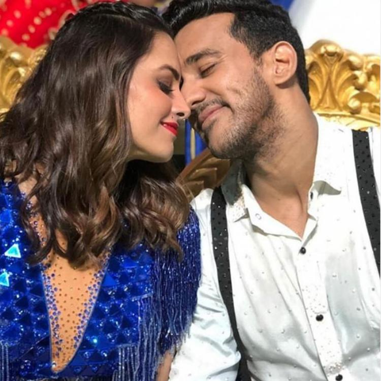 Throwback: Anita Hassanandani and Rohit Reddy's mushy moment on Nach Baliye 9 sets is all about love